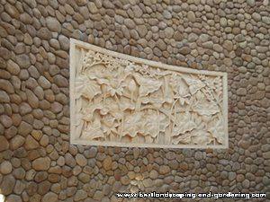 Batu alam dan batu ukir untuk dinding