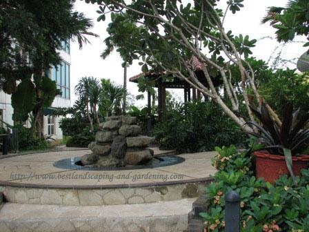 Desain dan Pengerjaan Taman Hotel / Town House