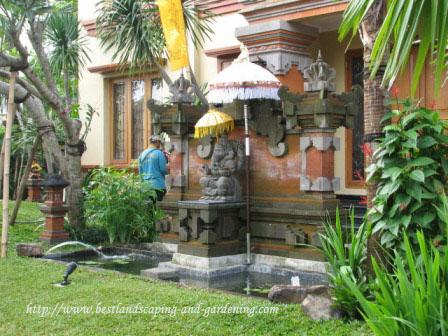 Desain dan Pengerjaan Taman Bali