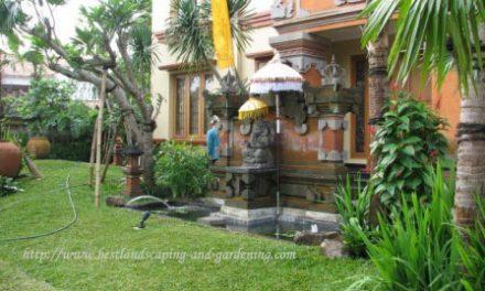 Desain Taman Bali