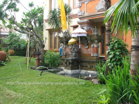 Desain Taman Bali Gaya Taman Bali Kontraktor Taman Bali
