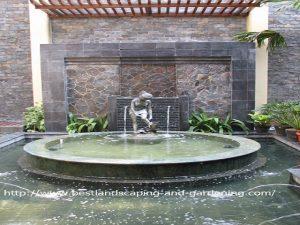 Desain dan Pengerjaan Air Mancur