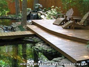 Decking Kayu Untuk Taman | Decking Kayu Untuk Luar Ruangan
